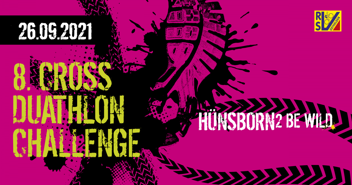 Hünsborn 2 be wild – Cross-Duathlon-Challenge