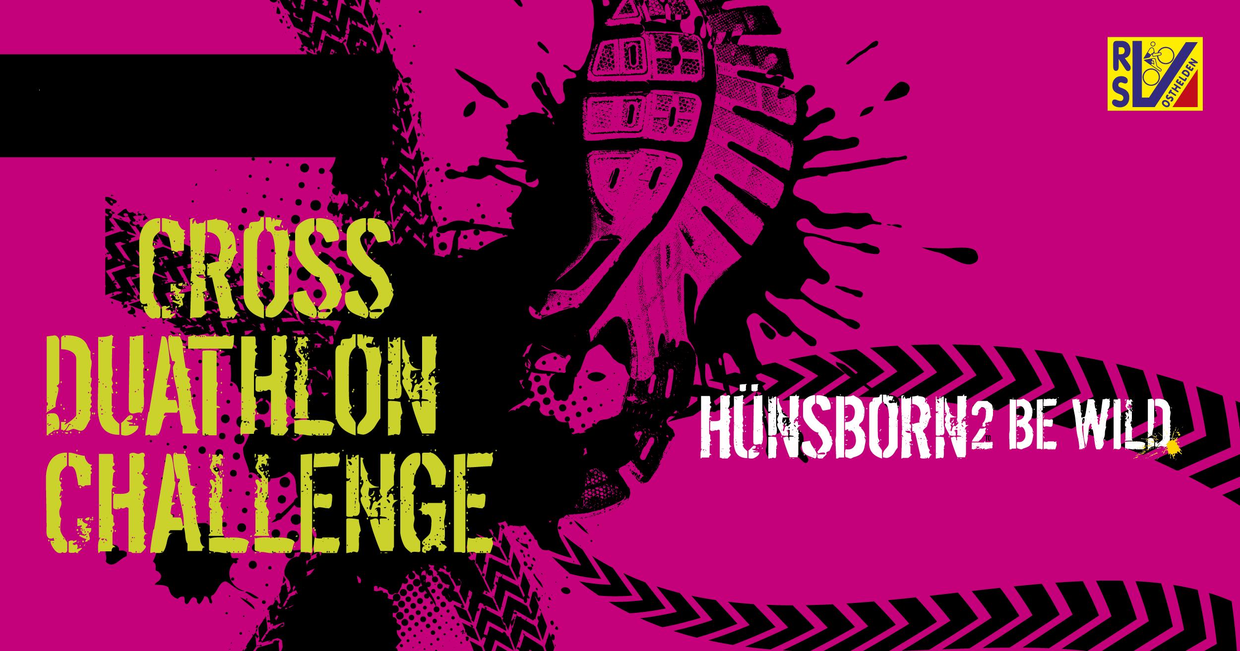 Hünsborn 2 be wild – Cross-Duathlon-Challenge
